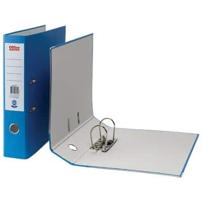 Office Depot Lever Arch File Blue Foolscap 75 mm