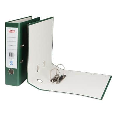 Office Depot Lever Arch File Dark Green A4 75 mm