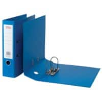 Office Depot Lever Arch File 80 mm Polypropylene 2 ring A4 Blue