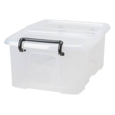 Strata Smart Plastic Storage Box 170 H x 295 W x 400 D mm 12 L