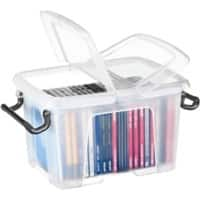 Strata Smart Plastic Storage Box 170 H x 225 W x 300 D mm 6 L