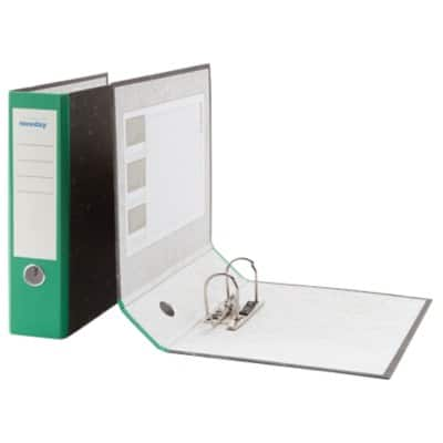 Niceday Lever Arch File A4 2 ring 80 mm Green