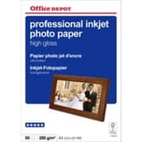 Office Depot Professional Photo Paper Glossy A4 280gsm White