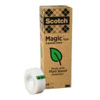 Scotch Tape Magic Polypropylene 19mm x 33m Transparent 9 Rolls