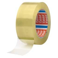 tesapack Tape 4280 50 mm x 66 m Transparent 6 Rolls