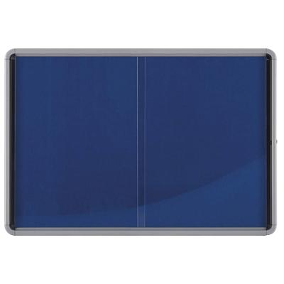 Nobo Display Case Internal Glazed 8 x A4 Blue 108.5 x 82.5 cm