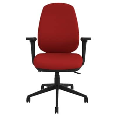 Energi-24 Ergonomic Office Chair Air-Care Synchro Tilt Red