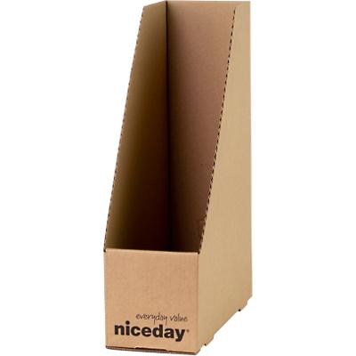 Niceday Magazine File Brown Pack of 10