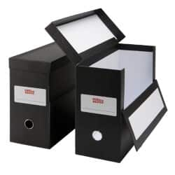 Office Depot Box File Foolscap 138 mm Black