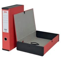 Office Depot Box File Foolscap 75 mm Red
