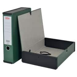 Office Depot Box file A4 75 mm Dark Green