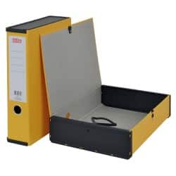 Office Depot Box file A4 75 mm Yellow