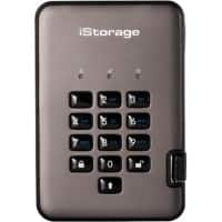 iStorage 500 GB Portable Encrypted Hard Drive diskAshur PRO2 USB 3.1 Black, Graphite