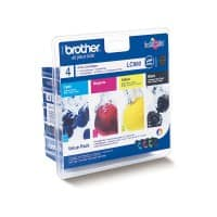 Brother LC-980VALBP Original Black & 3 Colours Ink Cartridge
