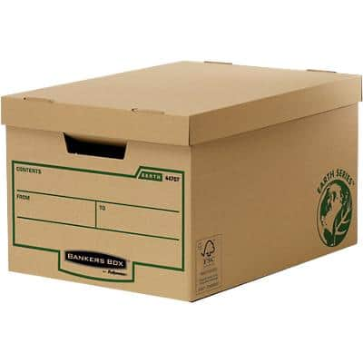 BANKERS BOX Earth Series Large Storage Box Pack of 10
