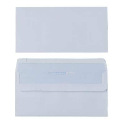 Office Depot DL Envelopes 220 x 110mm Self Seal Plain 80gsm White Pack of 250