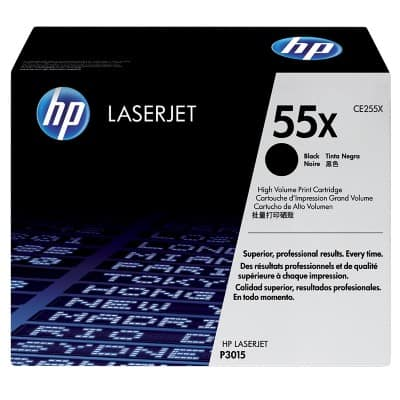 HP 55X Original Toner Cartridge CE255X Black