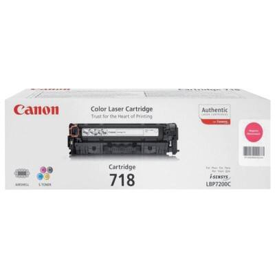 Canon 718 Original Toner Cartridge Magenta