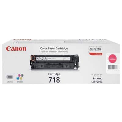 Canon 718M Original Toner Cartridge Magenta