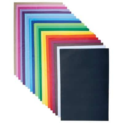 Bright Ideas Tissue Paper Assorted 18gsm 500 mm 480 Pieces
