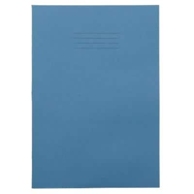 Exercise Books A4 Ruled 80 Pages Light Blue 210 (W) x 297 (H) mm Pack of 50