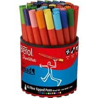 Berol Felt Tip Pens S0375970 1.7 mm Assorted 42 Pieces