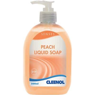 Cleenol Hand Soap Dispenser D19 Peach 500 ml