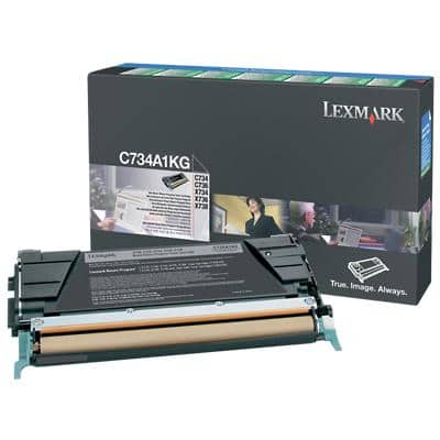 Lexmark C734A1KG Original Toner Cartridge Black