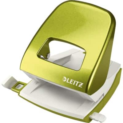 Leitz Hole Punch WOW NeXXt 5008 Green 30 Sheets