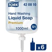 Tork Hand Soap Premium 6 Bottles of 1 L
