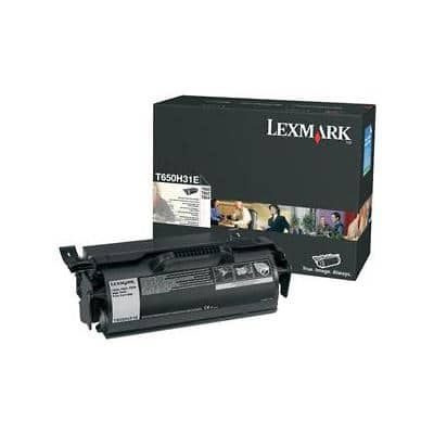 Lexmark T650H31E Original Black Toner Cartridge