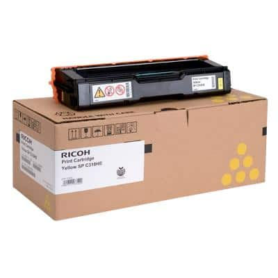 Ricoh SPC310 Original Yellow Toner Cartridge 406482