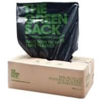 The Green Sack heavy-duty refuse sacks black 965 x 737mm (h x w) 60-70ltr 200 per box