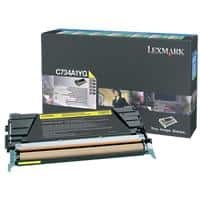 Lexmark C734A1YG Original Toner Cartridge Yellow
