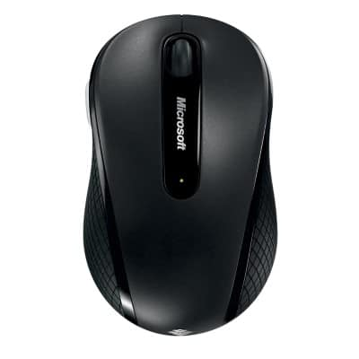 Microsoft Mouse Mobile 4000 Black