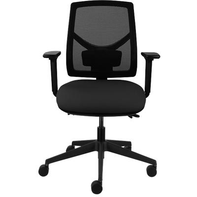 Basic Tilt Ergonomic Office Chair with Adjustable Armrest and Seat Air Care 2 Mesh Black