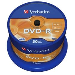 Verbatim DVD-R 4.7 gb 50 pieces