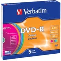 Verbatim DVD-R 4.7 GB 5 Pieces