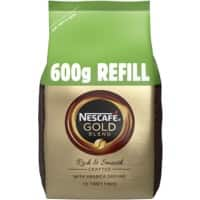 Nescafé Instant Coffee Refill Gold Blend Granules Bag 600 g