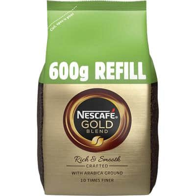 NESCAFÉ Gold Blend Rich & Smooth Instant Ground Coffee Bag Granules 600g