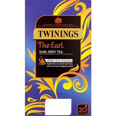 Twinings Earl Grey Tea Bags 20 Pieces