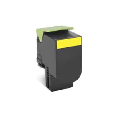 Lexmark 70C0H40 Original Toner Cartridge Yellow