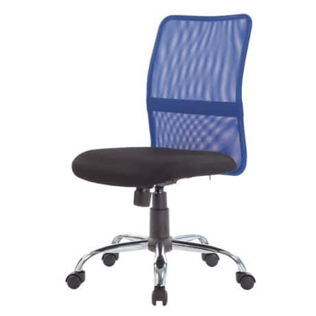 niceday ness mesh office chair with blue mesh back. Black Bedroom Furniture Sets. Home Design Ideas