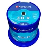 Verbatim CD-R 700 MB 100 Pieces