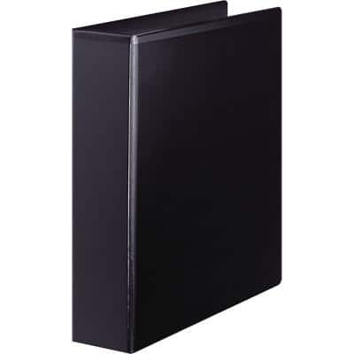 Office Depot Ring Binder 4 Rings Polypropylene Black
