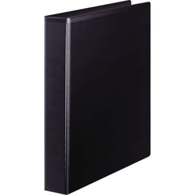 Office Depot 4 Ring Presentation Binder Black A4 47 mm Spine