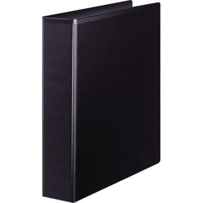 Office Depot Ring Binder 64 mm Smooth Polypropylene 4 ring A4 Black
