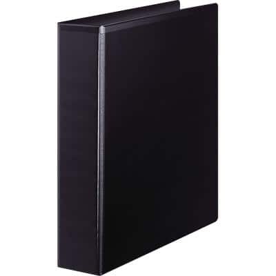 Office Depot Ring Binder 4 Rings 40 mm Polypropylene Black