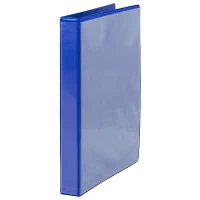 Office Depot Ring Binder Presentation 38 mm Polypropylene 4 ring A4 Blue