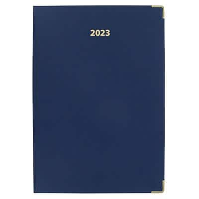 Office Depot Diary A4 1 Day per page 2021 Blue